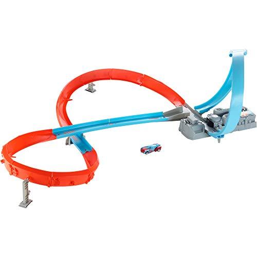 Hot Wheels GWT42 - Rennstrecke mit 8er Kurve, Spielzeug ab 5 Jahren, Abweichungen in Verpackung vorbehalten