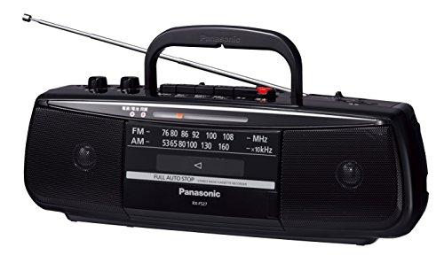 パナソニックステレオラジオカセットレコーダーRX-FS27-K