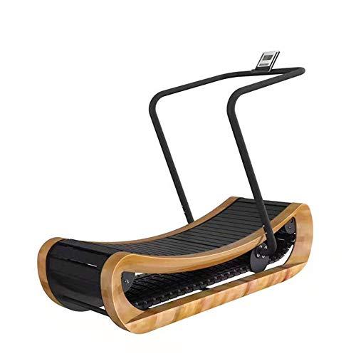 RLIRLI Nicht Angetriebenes Laufband Selbstregulierendes, Gebogenes Laufband, EIN Konkaves Bogenlaufband Im Kommerziellen Fitnessstudio, Kann Gesund Bleiben Und Fett Verbrennen