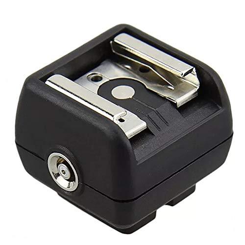 JJC Kompatibel mit Studioblitz an Standard ISO Kamerablitzschuh oder Multi Interface Shoe Blitzadapter