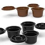 ZXB 3 unids CAPSULA CAPSULA Filtro Reutilizable Filtro de café Copa de café Recargable Capsule Nespresso Cocina Coffeeware (Color : 3Pc Random Color)