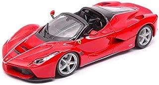 Ferrari LaFerrari F70 Aperta Red 1/24 Diecast Model Car by Bburago 26022