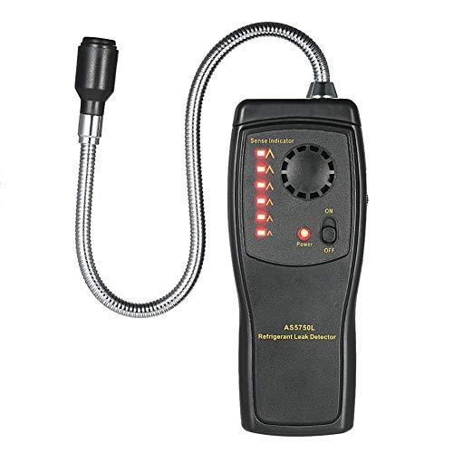 no-branded Gas Analyzer FCKW Halogen Luftdetektor Kältemittel Klimaanlage Detector Freon Gas-Leck-Tester Ton Licht Alarm XXYHYQHJD
