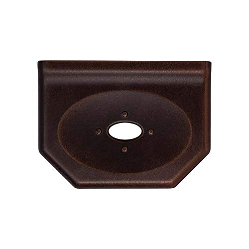 5 inch Shower Caddy Soap Dish - Oil Rubbed Bronze Soap Tray Floating Shelves Bathroom Organizer Wall Mount Flatback