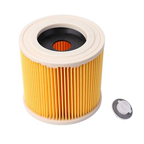 Cartucho de Filtro de Aire de Repuesto MINGSTORE para aspiradora en seco y húmedo Karcher A2004 A2054