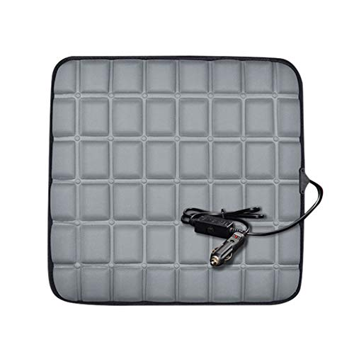 Check Out This FraftO USB Square Heating Square Pad Car Seat Cushion Fast-Heating Electric Warmer Memory Foam Pad Four Seasons Cushion