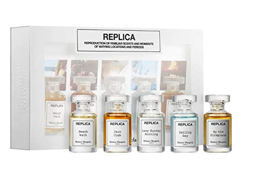 Maison Margiela Replica Delux Mini Coffret Set! Includes 5 Scents Of 0.24 Oz Perfumes! Fragrances That Evoke The Scents Hidden Deep Memories! Great Lovely Perfume Set!