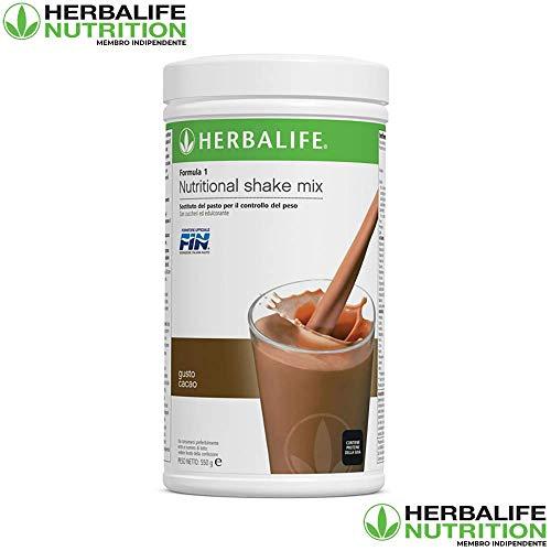 HERBALIFE FORMULA 1 NUTRITIONAL SHAKE MIX CACAO 550GR