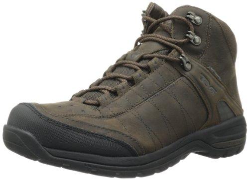 Hot Sale Teva Men's Kimtah WP Leather Mid Hiking Boot,Turkish Coffee,11.5 M US