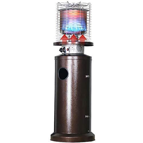 WANGT Calentador De Patio Al Aire Libre, Calentadores De Exterior PortáTiles De Acero para Exteriores, Adecuados para CalefaccióN De Gas Inoxidable En Interiores Y Exteriores