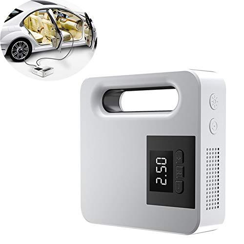 Hinchador Electrico Inflador Neumaticos Inflador de neumáticos con manómetro Inflador automático de neumáticos Digital White Digital,One Size