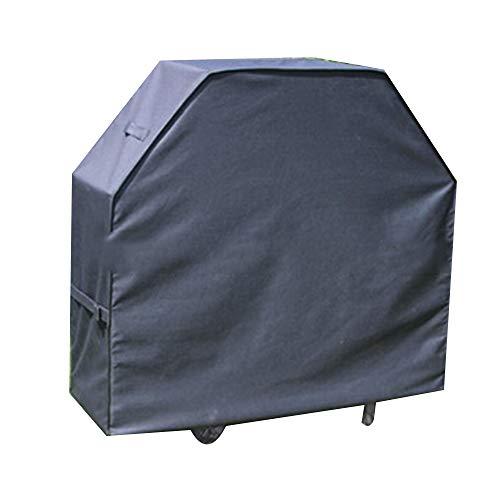JYW-Covers Housse De Protection, De Plein Air Prime Tissu Oxford Couverture De Meubles Chaise Imperméable/Crème Solaire,Black,145 * 61 * 117Cm