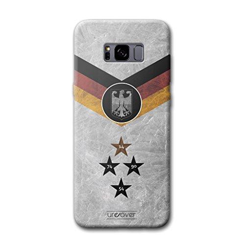 Urcover® Fußball Schutzhülle kompatibel mit Samsung Galaxy S8 [Team Deutschland] Fußball Case