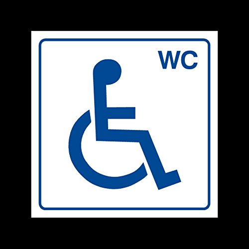 Disabled - Wheelchair Access Toilet Plastic Sign - Women/Ladies/Disabled/Child Changing