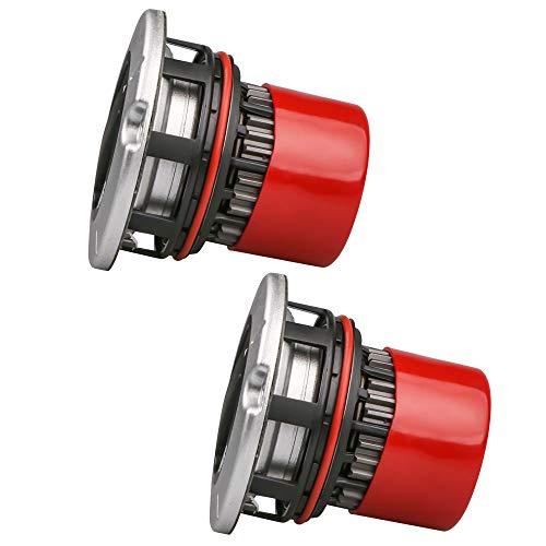 MOSTPLUS Manual Locking Hub Axle Actuator 4x4 4WD | Compatible for BC3Z-3B396-B BC3Z3B396B | Ford F250 F350 F450 F550 Super Duty 2005-2016 (Set of 2)