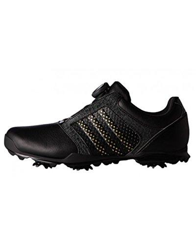adidas adidas , Damen Golfschuhe, Damen, Q44701_34.6, Schwarz/Silber, 34.6