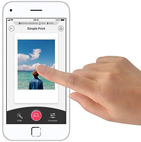 instax Link smartphone printer, Dusky Pink