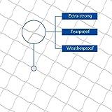 Focuspet Filet de Protection pour Chat, Filet de Protection Transparent Filet de Sécurité pour Chat Filet de Protection Fenêtre pour Chat pour Balcon & Fenêtres