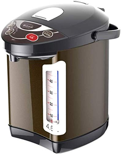 YAYY Elektrische Thermoskanne Home Automatischer Wasserkocher mit Waage Sicherheit Kindersicherungskessel 4 6L(Upgrade)