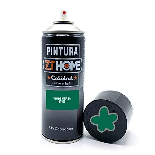 Pintura Spray Verde Hierba 400ml imprimacion para madera, metal, ceramica, plasticos / Pinta todo tipo de cosas y superficies Radiadores, bicicleta, coche, plasticos, microondas, graffiti - RAL 6016