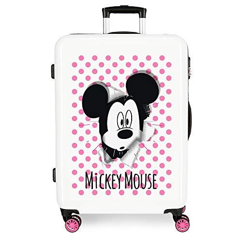 Disney Have a good day Mickey Maleta mediana Multicolor 48x68x26 cms Rígida...