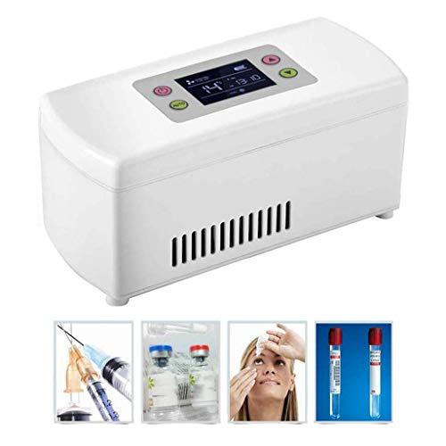 Lh$Yu Tragbare Insulin-Kühlboxen, Drogenkühler LCD-Display Insulin Halten Die Temperatur des Arzneimittels Im Kühlschrank Für Die Lagerung Von Arzneimitteln Konstant