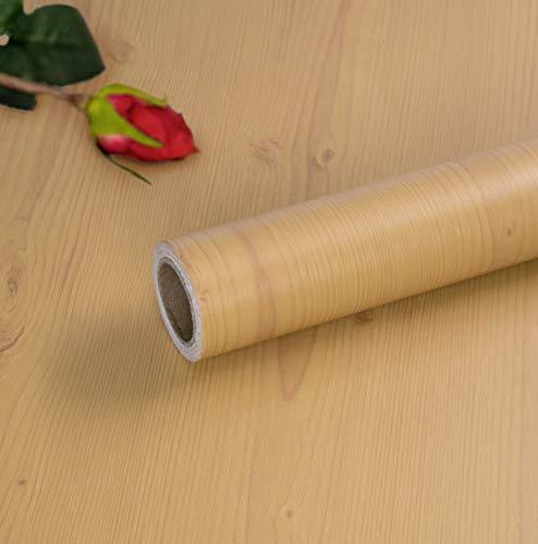 Selbstklebende Folie Holzoptik Klebefolie Möbel Dekofolie Möbelfolie Holzdesign Holz Folie Selbstklebende Holzdekor 40X300cm