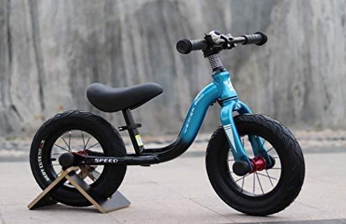 MGE Balance Bike,4 Year Old 12 Inch,No Pedal Adjustable Seat 2 Wheels Bell Safe Lightweight Training and Walking Bicycle for Boys Girls Toddler First Best Gift
