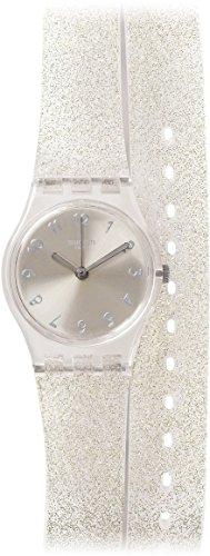 Swatch Silver Glistar Unisex Watch LK343