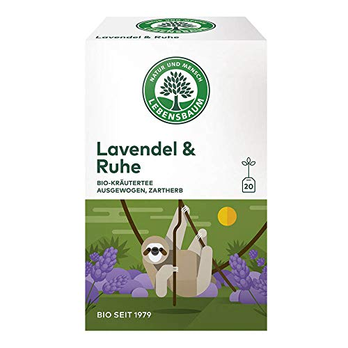 LEBENSBAUM Kräutertee - Lavendel & Ruhe 20 Beutel 30g