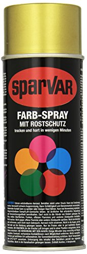 SparVar 6033037 Lackspray Metal-Flake Le Mans Benzinfest, 400 ml, lime gold