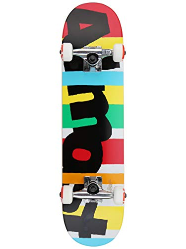 Almost Skateboard Complete Deck Stripe Out FP 7.25