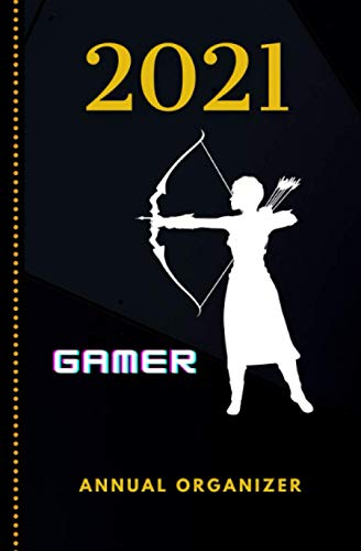 2021 Gaming Organizer for Gamers: Video Games Fan Notebook a