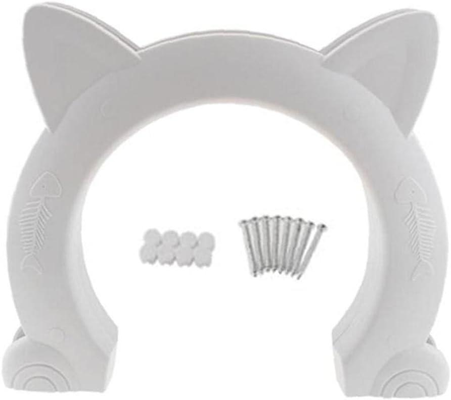 Hainice Indoor Cat Door Sale SALE% OFF Kitten Hollow 2021 new Pass Hole Pe Interior