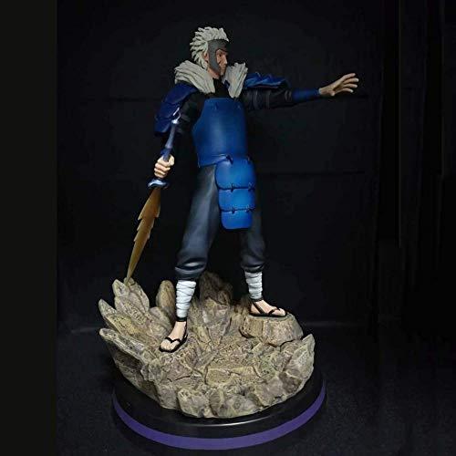 Yooped Naruto - Senju Tobirama Action Figures GK Statua Anime Modello 3D Gioca L accumulazione da Regalo per Bambini E Adulti Senju Tobirama-30cm