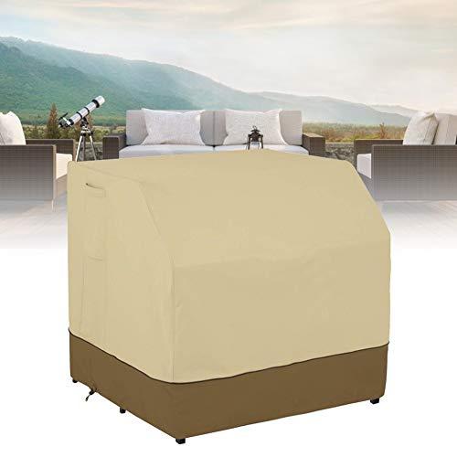 NATRUSS Cubierta a Prueba de Polvo de Muebles a Prueba de Agua, Cubierta de Barra de jardín Protección Solar Cubierta a Prueba de Polvo a Prueba de Polvo, para Muebles de Exterior