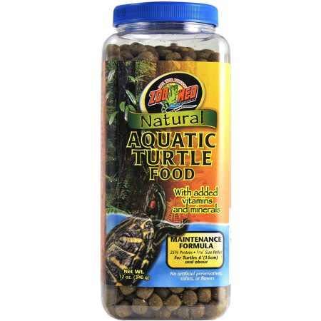 Zoo Med Natural Aquatic Turtle Food (12 oz)