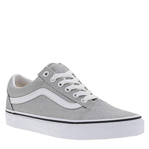 Vans Old Skool Schuh 2020 Silver/True White, 40