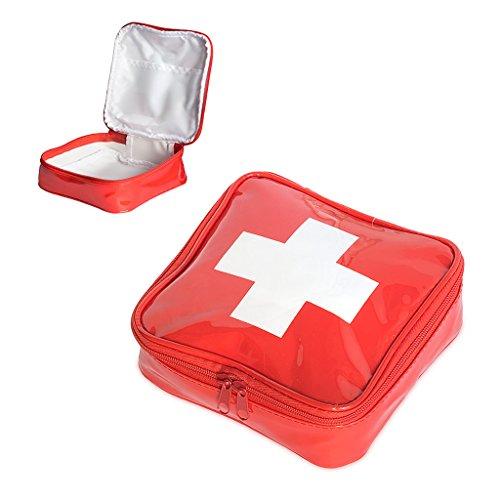 balvi-MedikamententascheErsteHilfe-MedicinesCase,Cross,PVC