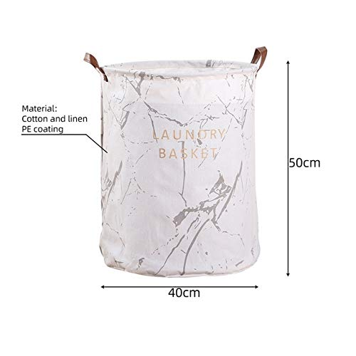 Mdsfe Large foldable dirty clothes basket storage bag printing foldable waterproof household clothes dirty clothes basket sorter laundry basket - B3,a3,40X50CM