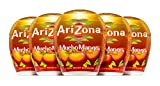AriZona Mucho Mango Liquid Water Enhancer LWE (Pack of 5), Low Calorie Single Serving, Liquid Drink Mix, Just Add Water for Deliciously Refreshing Fruity Zero Calorie Beverage