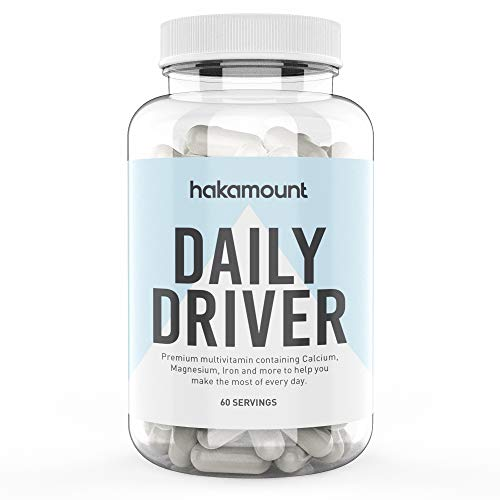 Daily Driver Multivitamin | Health, Immune System Support & Performance | for Men and Women | 2 Month's Supply | hakamount