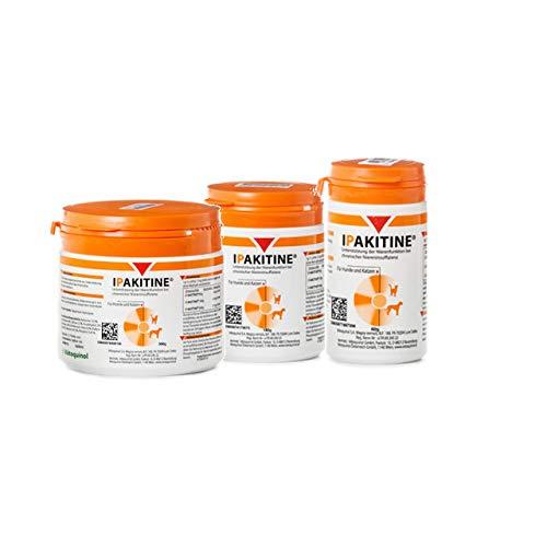 Vetoquinol Ipakitine Pulver 180g Dose - Ergänzungsfuttermittel für Katzen und Hunde zur Unterstützung der Nieren