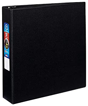 AVERY Heavy-Duty Binder with 2-Inch One Touch EZD Ring Black  79982