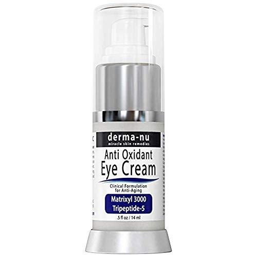 Crema para Ojos Anti-Envejecimiento - El mejor tratamiento para las arrugas de la zona baja de tus ojos, ojeras e...