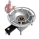 YCRD Cocina De Gas Portátil, Quemador De Gases De Fuego Controlable, Utilizado En La Industria De La Restauración, Tienda De Verduras Guisadas, Tienda De Sopas, Restaurante