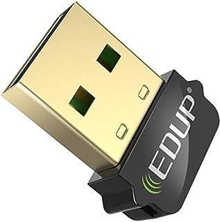 ワイヤレス アダプタ Fanvs 低遅延 USB 4.0 Bluetoothアダプタ 無線 小型 ドングル 最大通信距離20m CSR8510 Windows 7/8/8.1/10 対応 Mac非対応 TELEC認証済 1年保証 (ブラック)