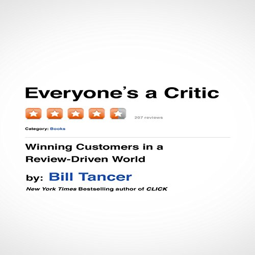 Everyone's a Critic audiobook cover art