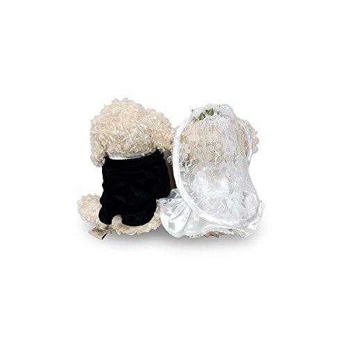 ベストエバー『ウェルカムドール|トイプードルホワイト(白)ウェディングドール』