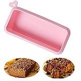 Goldsmith-Fish Molde de silicona para pan y pan, bandeja antiadherente para...